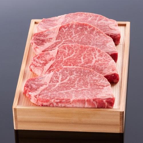 松阪牛ヒレステーキ100g 4枚 木箱入り