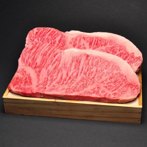 松阪牛サーロインステーキ200g 2枚 木箱入り