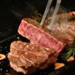 松阪牛サーロインステーキ200g 3枚 木箱入りイメージ