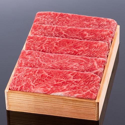 松阪牛すき焼き(肩・モモ) @1500 800g 木箱入り